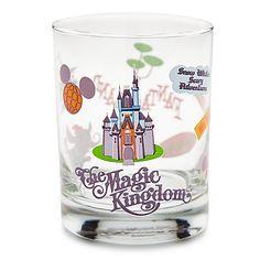 So Stinkin' cute!  Walt Disney World Fantasyland Glass by Shag