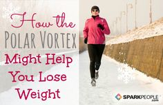 How the Polar Vortex Might Help You Lose Weight | via @SparkPeople #winter #diet #fitness #cold
