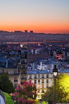 Butte Montmartre - Belleville - Paris - France