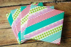 tape craft, coaster idea, gift, crafti, tape idea, diy washi, craft idea, washi tape coasters, tapes