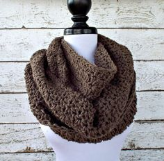 Rainier Cowl in Taupe Brown