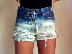 LadySpace: How to make DIY ombre short