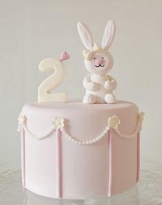 Sweetest bunny cake