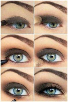 Summer Ready Smokey Eyes - Hairstyles and Beauty Tips