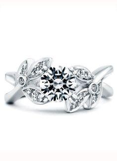 Mark Schneider Design Mystic Engagement Ring