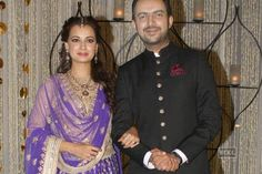 Dia Mirza- Sahil Sangha wedding coverage  http://goo.gl/X0qU9b