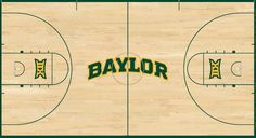 Sneak peek at the Ferrell Center court's new design (coming this fall). #SicEm #Baylor
