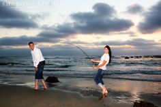 fishing engagement photos - Google Search