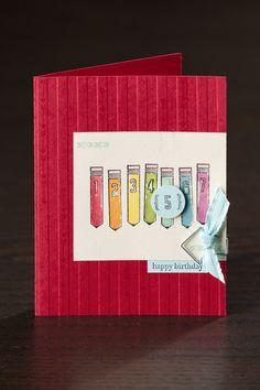 The perfect card to say happy birthday to a new student!