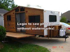 Cabin Camper Travel Trailer