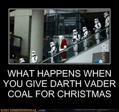 I find your lack of gifts disturbing.