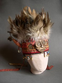 Tuvan shaman's headdress