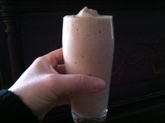 weight watchers almond recipes, smoothie weight watchers, butter banana, banana smoothi, healthy almond milk recipes