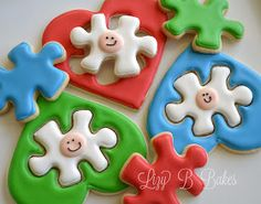 The Cookie Puzzle: Puzzle Hearts by Lizy B