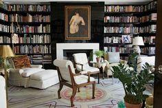 libraries, manhattan, apartments, black