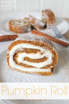 Easy Pumpkin Roll De