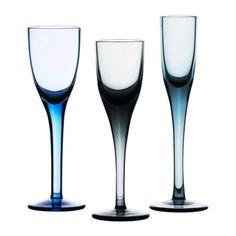 IKEA PS SKOGSSTJÄRNA  Snaps/liqueur glass, set of 3, assorted colors  $7.99
