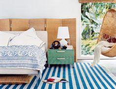 teal rug and aqua unit