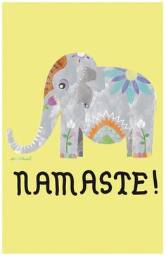 yoga elephant!