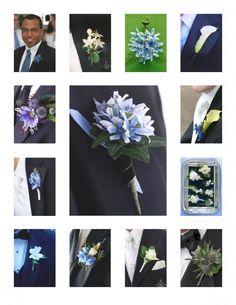 blue boutineers