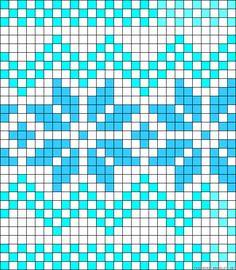 Norwegian perler bead pattern