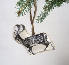 Printed tree ornaments (inspiring)