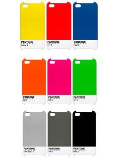 Pantone iPhone Cases // #pantone   (#iPhone, #iPhonecase, #iPhonecover via cupidtino.com team)