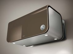 Wall-mounted stainless steel cooker hood 70CC EVOQUE Emotion Collection by Elica | design Fabrizio Crisà, Elica Design Center
