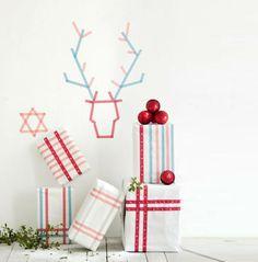 Cómo decorar tus Navidades con Washi Tape