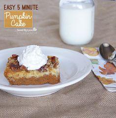 The Best Pumpkin Dessert Hands Down Pumpkin Dump Cake @savedbyloves