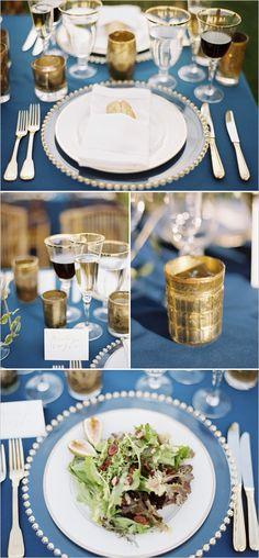 Whimsical yet romantic wedding ideas. Captured by: Elisa Bricker #weddingchicks http://www.weddingchicks.com/2014/08/20/whimsical-natural-virginia-wedding/