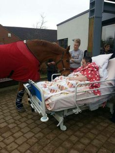 Keri Emerton with her horse Shannon before passing away.  http://www.ehospice.com/uk/ArticleView/tabid/10697/ArticleId/7886/language/en-GB/View.aspx hospic inspir, houses, emerton, horses, magazines, hospic care