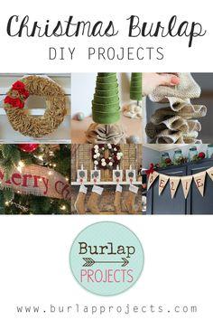 Christmas Burlap DIY