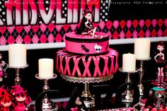 monster high party   Monster High 8th Birthday Party via Kara's Party Ideas   Kara ...