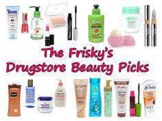 The Frisky's Drugstore Beauty Picks