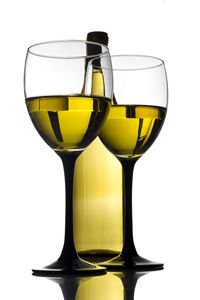 A nice Sauvignon Blanc, Pinot Grigio or Chardonnay. I'm not picky, as long as I can have the whole bottle.