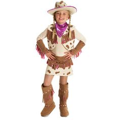 For girls who are not partial to pink but still like watching Sheriff Callie, this costume will fit the bill!