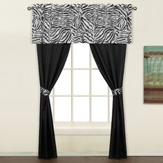 Safari sheer curtain panels (Animal Prints) will bring out the animal in you. 4 great styles and sold by the pair for an added value these sheer curtains are sure to be a hit in a childs room a man cave or as an under treatment. #Kids #Curtains #Swagsgalore