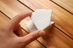 Make an Origami Jumping Frog from an Index Card - Slinky Guide