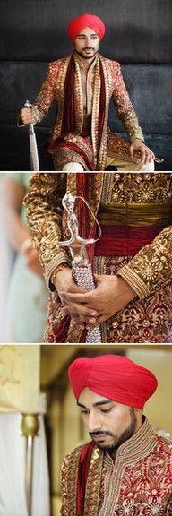 Punjabi Wedding Sherwani