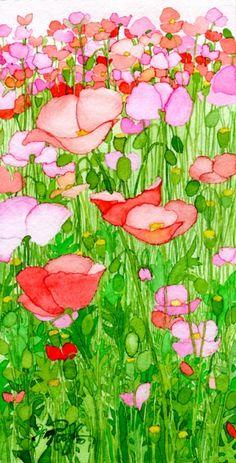 Field of Poppies by Jill Rosoff