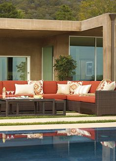 Create the perfect poolside atmosphere.