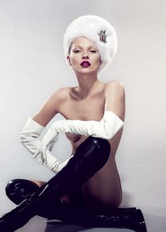 Kate Moss photographed by Mert and Marcus