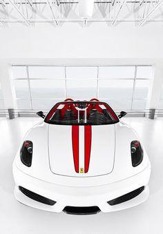 ☆ White Ferrari ☆