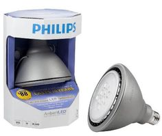 z DISCONTINUED: Philips AmbientLED (TM) 60W Replacement Outdoor and Security PAR38 LED Light Bulb - Bright White $39.95