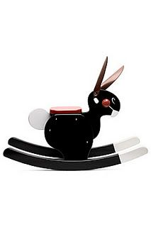 Rocking Rabbit. A modern take on the classic rocking horse. $190