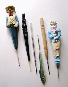recycled crochet hooks image 4