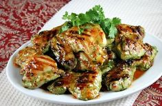 http://www.recipegirl.com/2012/08/13/cilantro-chicken/