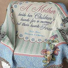 A Mother Is Forever Personalized Afghan