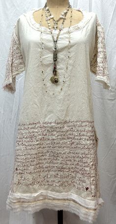 Try some text re Belvoir. Add to Lynda Monk's frame. Apply Canvas  to section of the document scroll perhaps? Tint the gessoed canvas.  Red Thread Journal Dress made by Ruth Rae